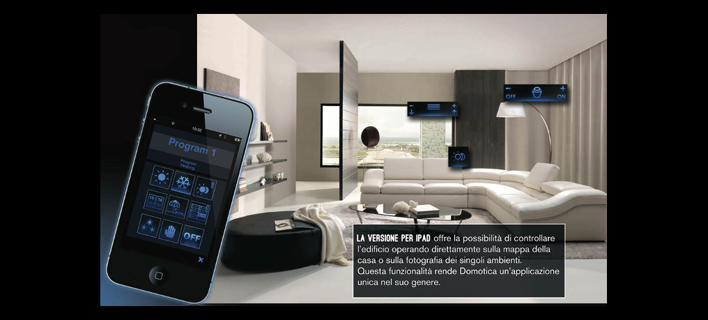 Domotica App Smart Home and Home Automation